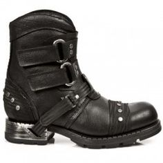 Botte en cuir M.MR016-C1 New Rock