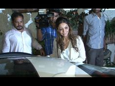 Bollywood King Shahrukh Khan's wife Gauri Khan attended the screening of BOMBAY VELVET movie. Also see : Gauri Khan in SHORT dress walks the ramp at Lakme Fa. Bombay Velvet Movie, The Originals, Coat, Youtube, Movies, Fashion, 2016 Movies, Moda, Fashion Styles