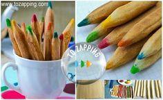 Galletas para niños receta. Hoy os vamos a recomendar esta receta dulce de galletas de lápiz, estas irresistibles galletas se pueden convertir en una