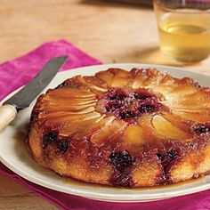 Blackberry - Apple Upside down cake, not sure I'll ever make this but ideally I will!