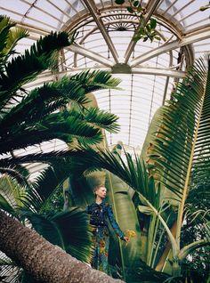 """""""Hothouse Flowers"""" Luca Gadjus for Harper's Bazaar UK May 2015"""