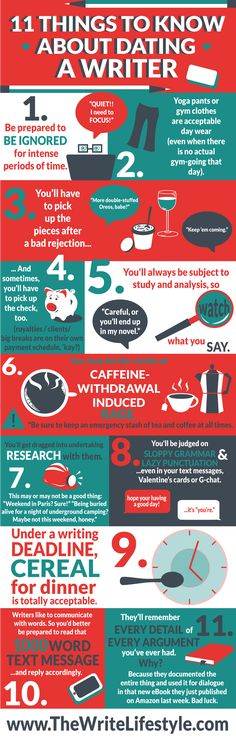 11 Things to know about dating a writer #writers #dating #true