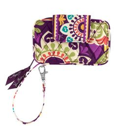 Another great find on #zulily! Plum Crazy Smartphone Wristlet #zulilyfinds