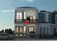 desain rumah 2 lantai standart kediri