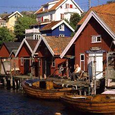 Sjöbodar, Sweden