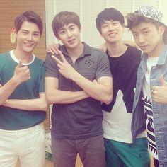 RT @2pmalways : [Pic] Nichkhun, Wooyoung, Wei Daxun & Sun Jian from Sun Jian's IG http://instagram.com/p/odnh9JouGI/ pic.twitter.com/eOQZ2tRo5w