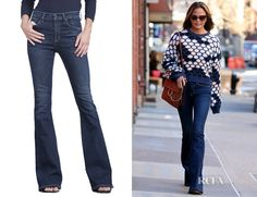 Chrissy Teigen's Citizens of Humanity 'Fleetwood' High Rise Flare Jeans