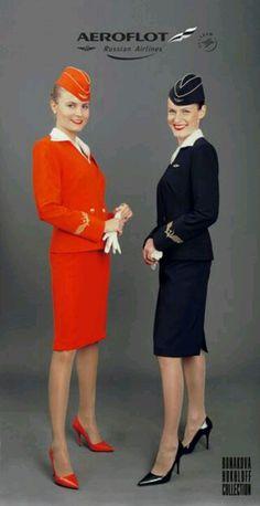 Aeroflot Russian Airlines Cabin Crew