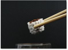 Coffee sushi de Laure-Anne Caillaud / #food_design, design culinaire