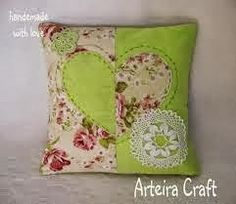 Cushion Embroidery, Applique Cushions, Sewing Pillows, Pin Cushions, Baby Pillows, Throw Pillows, Pillow Crafts, Embroidered Pillowcases, Cute Quilts