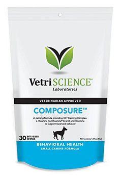 Vetri-Science Composure Small Canine, 30 Mini Bite-Sized Chews *** Tried it! Love it! Click the image. : Dog Health Supplies