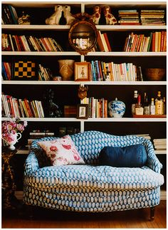 English Country Cottage |Library