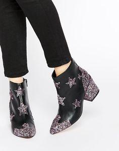 Image 1 ofASOS RADIO HOTSHOT Western Ankle Boots