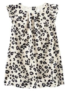 Cute #leopard flutter dress for little girls http://rstyle.me/~1G0kq