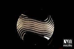 #micillo #micilloItalia #button  #elegance #black #quality #madeinitaly #micilloshop #fashion #accessorize #glamour #cool #diamond #crystal #swarovski #italiandesign www.micilloshop.com www.micillo.it