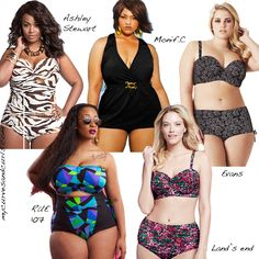 My Curves & Curls™ | A Canadian Plus Size Fashion blog: SUMMER 2013 PLUS SIZE SWIMWEAR SHOPPING GUIDE
