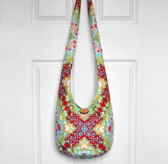 Hobo Bag Cross Body Bag Hippie Purse Sling Bag Boho by 2LeftHandz