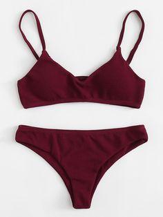2020 Women Swimsuits Bikini Bralette Bikini Top 2 Piece Bathing Suits Canada Yellow And White One Piece Swimsuit Ruffle Swimsuit Underwire Swimwear, Monokini Swimsuits, Cute Swimsuits, Cute Bikinis, Women Swimsuits, Teen Bikinis, Romwe Swimwear, Sporty Swimsuits, Summer Bathing Suits
