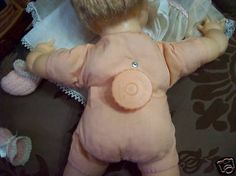 1960's thumbelina doll with wind up back