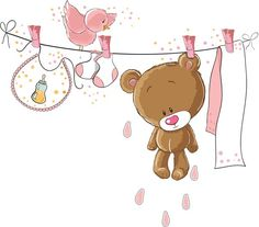 Мои закладки Tatty Teddy, Clipart Baby, Bear Cartoon, Cute Cartoon, Scrapbook Bebe, Deco Baby Shower, Disney Cartoon Characters, Bff Drawings, Baby Posters