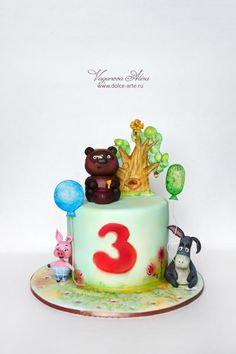 Russian Winnie the Pooh by Alina Vaganova