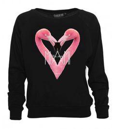 """Crew neck """"Miami Mon Amour Sweater"""" #foyparis #fameonyouparis #women #tee #paris #miami #crewneck"""