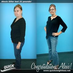 """Congratulations to Alexis Siller from Davie, Florida for losing 32 pounds on the Quick Weight Loss Centers program!   """"The QWLC program is great and I feel fantastic. The Quick Weight Loss staff is awesome - so knowledgeable, helpful, patient and kind! I could not have done it without them."""" -Alexis.   Read her Quick Weight Loss success story: http://quickweightloss.net/testimonials?id=32.siller  #qwlc #weightloss"""