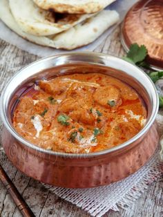 Murgh Makhani (Butter Chicken) - My absolute favorite Indian dish. This recipe looks very authentic!