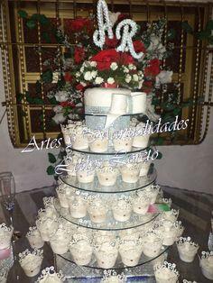 Torre de Cup cakes Boda
