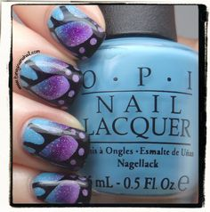 Tunay Na Mahal: Butterfly Wings with OPI & Fairy Dust