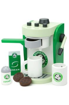 Espresso Express Coffee Maker Playset: How can I help you?Here at Espresso Express we strive to inspire each customer with each fresh cup of our. Coffee In A Cone, Pod Coffee Makers, Coffee Pods, Coffee Beans, Coffee Shop, Coffee Lovers, Coffee Lab, Coffee Truck, Coffee Girl