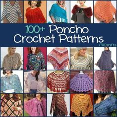 When you need that extra layer of warmth around the house or over a nice dress, you need a kicky poncho or capelet. Find the perfect free crochet pattern with our collection of 100+ Free Poncho Croche