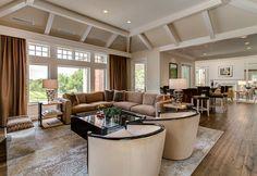 Living Room - Classic Revival Remodel - KGA Studio Architects, PC