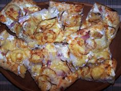 Kenyérlángos Pizza Recipes, Cooking Recipes, Taco Pizza, Quiche, Dairy, Favorite Recipes, Bread, Cheese, Food