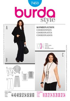 Simplicity Creative Group - Burda Style, Coordinates