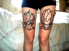 #tattoo #dragonballZ I like dragon ball Z but this is a little Much...