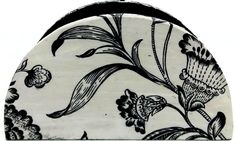 Porta guardanapo mdf com decoupage em floral, envernizado com ótimo acabamento . <br>Um ótimo presente para qualquer ocasião ou para deixar sua casa ainda mais bonita.