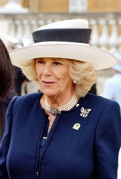 Duchess of Cornwall, June 2, 2015 in Philip Treacy   Royal Hats