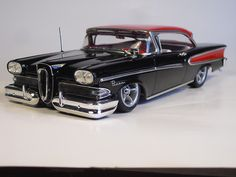 58 Edsel That nose just begs for a turbo breather to be tucked on there.