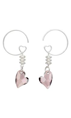 Tutorial # Earrings with Swarovski Crystal Drops Beads