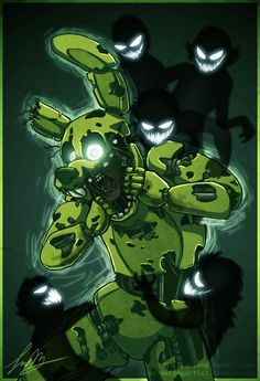 "Springtrap ""Bad Ending"" - Five Nights at Freddy's 3 (by NuclearLoop)"