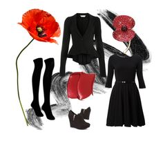 """""""The Buckley Poppy"""" by buckley on Polyvore Buckley London Poppies available at www.buckleylondon.com"""