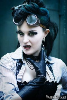 We recently got in contact with this steampunk beauty and I wanted to post a link to her portfolio where there are more steampunk pics, and lots of other awesome pics. Check out her site and enjoy!http://vampirekitten.net/