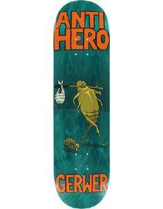 Anti Hero Gerwer Roaches Deck-8.12