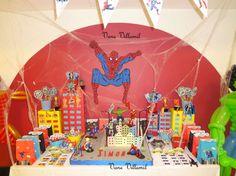 batman hulk iron man spiderman thor american captain Birthday Party Ideas | Photo 2 of 47 | Catch My Party
