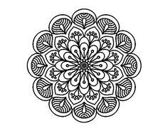 60 Imágenes de Mandalas para colorear dibujos para descargar e imprimir   Colorear imágenes
