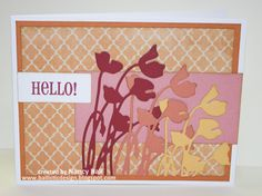 CTMH Claire card by Nancy Ball