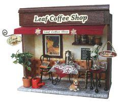 ビリー 手作りドールハウスキット 街角のお店キット リーフコーヒーショップ 8787 ビリー, http://www.amazon.co.jp/dp/B005437E3Y/ref=cm_sw_r_pi_dp_2nTmtb0R60XTZ
