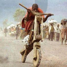 木で自転車を自作してしまう、その心意気が素敵 : Plum Heart