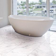 Marmo – Stoneworld Marble Look Tile, Carrara Marble, Large Format Tile, Glazed Tiles, Interiors Magazine, Stone Tiles, Floor Space, Visual Effects, Concrete Floors